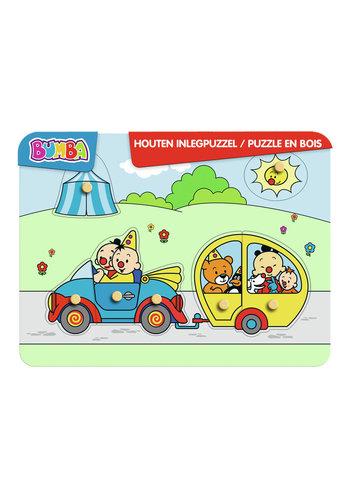 Bumba Houten Puzzel Auto