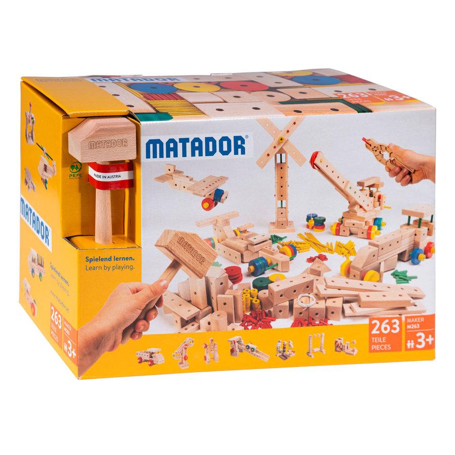 Matador Maker M263 Constructieset Hout, 263dlg.-1
