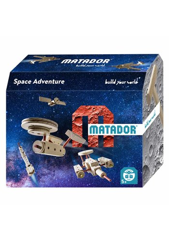 Matador Explorer Space Constructieset Hout, 47dlg.