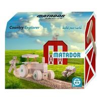 thumb-Matador Explorer Country Constructieset Hout, 47dlg.-1