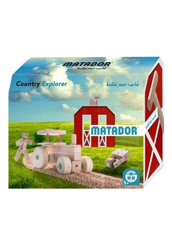 Matador Explorer Country Constructieset Hout, 47dlg.