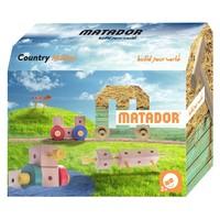thumb-Matador Maker Country Constructieset Hout, 38dlg.-1
