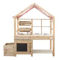 thumb-Classic World Outdoor Kinderkeuken XL Hout-1
