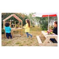 thumb-Classic World Outdoor Kinderkeuken XL Hout-2