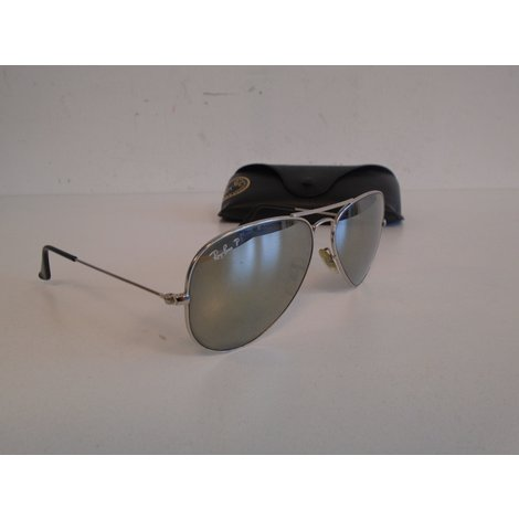 Ray-Ban Polarized Large metal gold | Nette staat