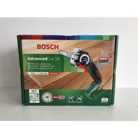 Bosch accuzaag AdvancedCut 18V | Body | NIEUW in doos!