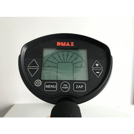 Dmax Metal-Detektor Pro metaal detector   Nette staat   compleet in doos