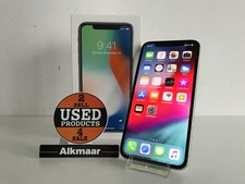 Apple Apple iPhone X 256GB zilver | In nette staat