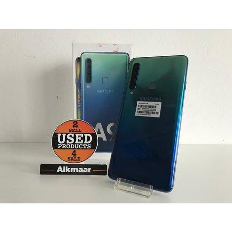 Samsung Galaxy A9 128GB Lemonade Blue | Compleet in doos