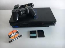 Sony Sony Playstation 2 zwart + 2 controllers   Nette staat