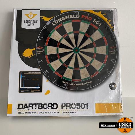 Longfield Pro 501 Dartboard | NIEUW!