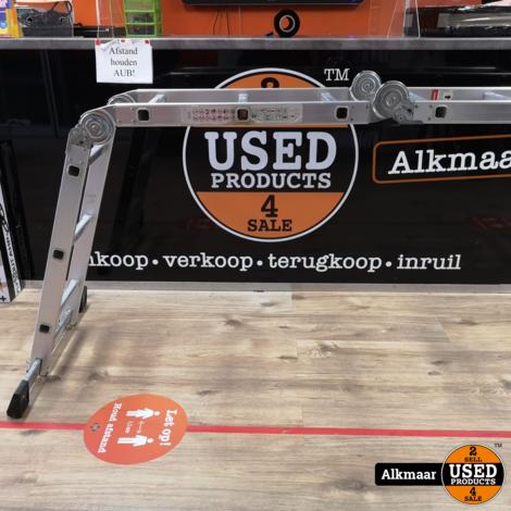 Aluminium Vouwladder | 12 treden| Nette staat
