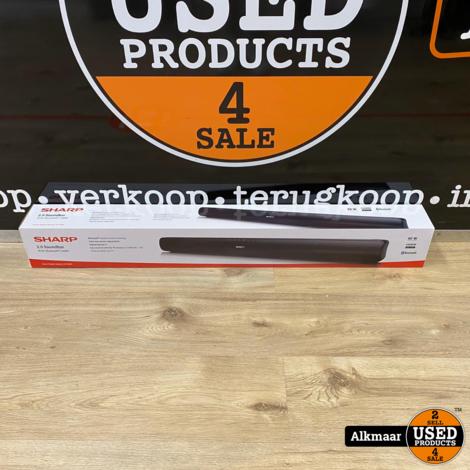 Sharp HT-SB95 2.0 soundbar 40watt Bluetooth/ HDMI   NIEUW