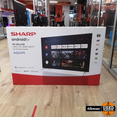 Sharp 55BL2 55 inch 4K UHD TV | NIEUW in doos!