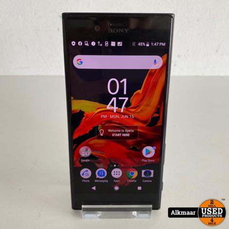 Sony Xperia XZ 32GB Zwart   Gebruikt