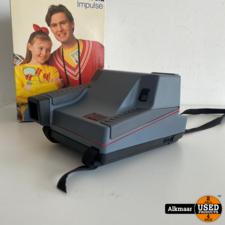 polaroid Polaroid Impulse 600 Plus Camera   Compleet in doos + papier