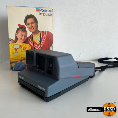 Polaroid Impulse 600 Plus Camera   Compleet in doos + papier