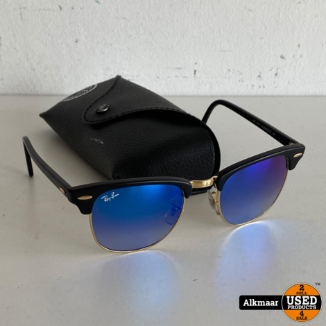 Ray Ban Clubmaster RB3016 Zonnebril | Nette staat!