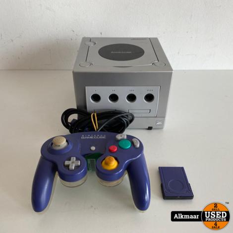 Nintendo Gamecube zilver + controller | Nette staat