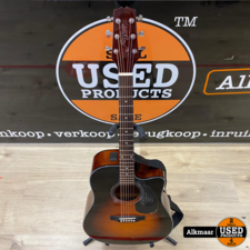 morgan Morgan W 104 CE TSB Semi akoestische gitaar   ZGAN
