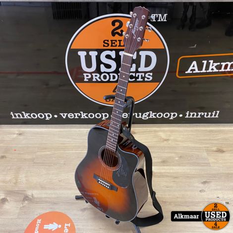 Morgan W 104 CE TSB Semi akoestische gitaar   ZGAN