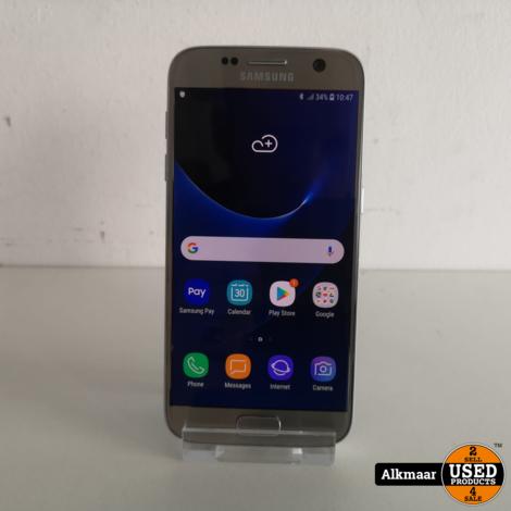 Samsung Galaxy S7 32GB Zilver | Nette staat
