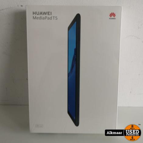 Huawei Mediapad T5 10.1 16GB Zwart Wifi + 4G | NIEUW in SEAL!