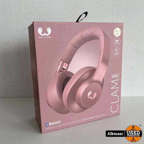 Fresh en rebel Clam Active Noise Cancelling Roze of blauw | Nieuw!