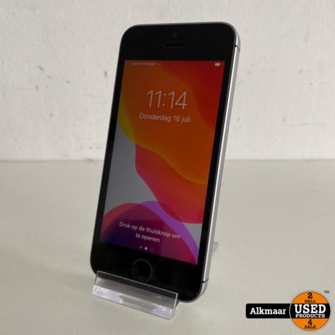 Apple iPhone SE 16GB Space Grey   Nette staat