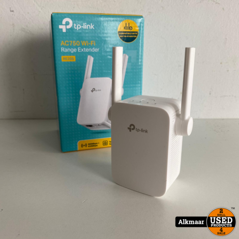 TP link AC750 Wi-fi range extender | Compleet in doos