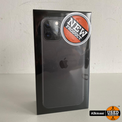 Apple iPhone 11 Pro 64GB Space Grey   NIEUW + Bon