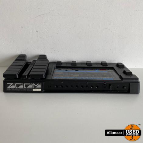 Zoom Player Pro 4040 effectenpedaal + Voeding