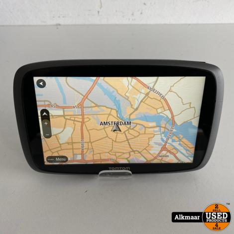 TomTom Go 6100 Europa + VS/Canada kaarten | nette staat