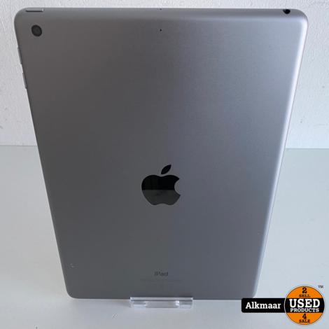 Apple iPad 6e Gen 2018 128GB Space Grey | Nette staat!