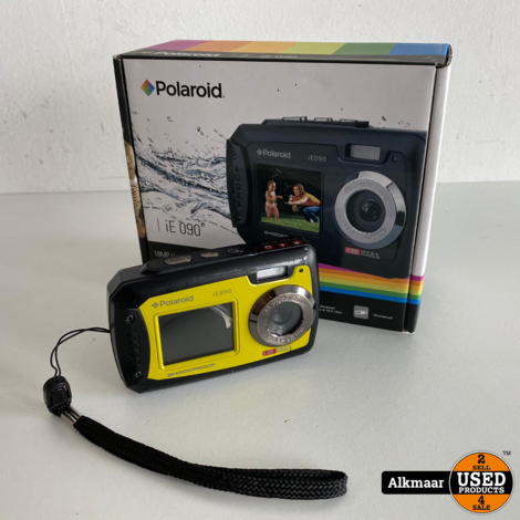 Polaroid iE090 onderwater Camera | Geel | ZGAN