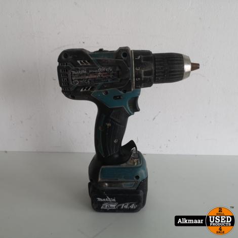 Makita DDF470 Boormachine 14.4V + 5ah accu