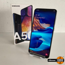 Samsung Samsung Galaxy A50 128GB zwart   Compleet in doos