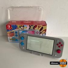 Nintendo Nintendo Switch Lite Zacian & Zamazenta edition + Bon