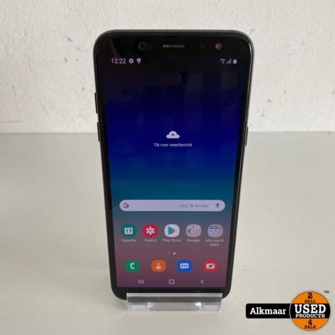 Samsung Galaxy A6 32GB zwart   Compleet in doos