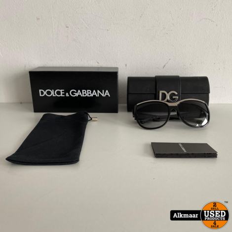 Dolce & Gabbana DG6054 59-16 Zonnebril | Compleet in doos + koker