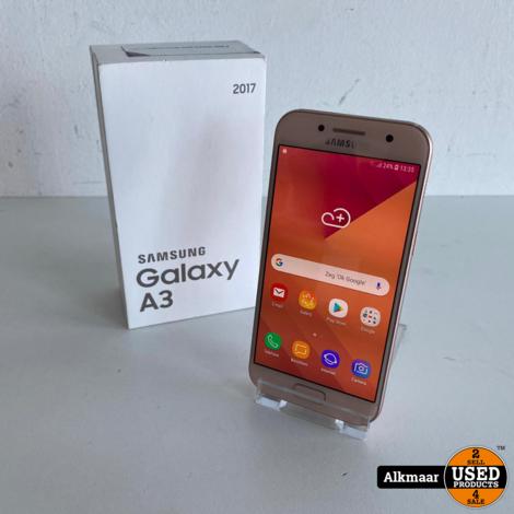Samsung Galaxy A3 2017 16GB Roze   In doos