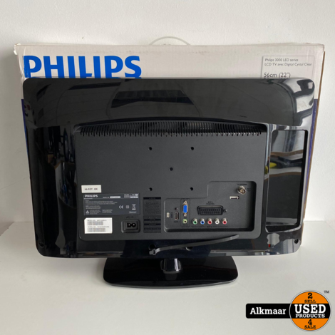 Philips 22PFL3405/12 22 inch HD-ready TV | Compleet in doos