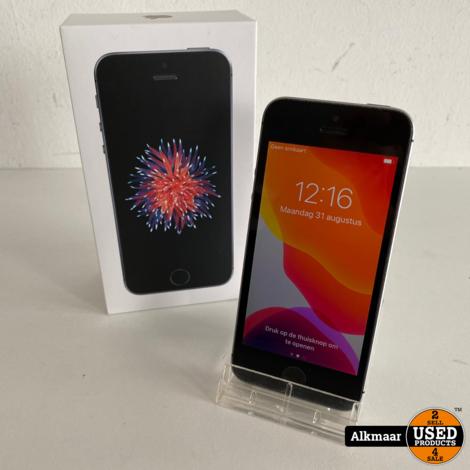 Apple iPhone SE 16GB Space Grey | Compleet in doos