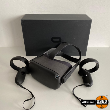 Oculus Quest 128GB Zwart Vr bril + controllers   Compleet in doos