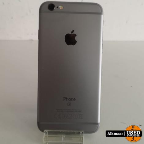 Apple iPhone 6S 64Gb Space Grey   Lichte gebruikerssporen