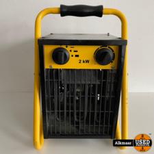 Vetec VK2.0 Elektrische Heater   Gebruikt