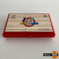 Nintendo Game & Watch Mickey & Donald   Gebruikt