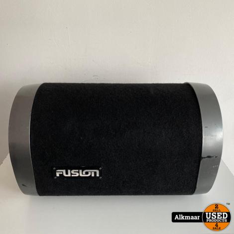 Fusion CS-AT1100 360 watt 10 Inch Active Tube Enclosure Subwoofer