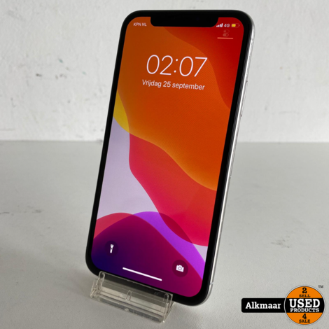 Apple iPhone x 256Gb zilver | In zeer nette staat!