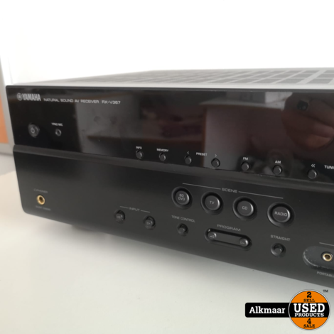 Yamaha RX-V367 Receiver | Excl afstandsbediening